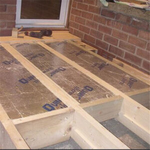Floor Insulation Construction