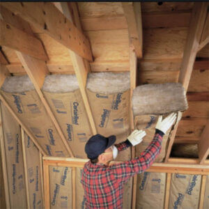 Attic Insulation Construction