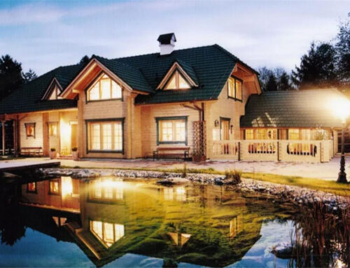 The eco-friendly building full of life – wooden house