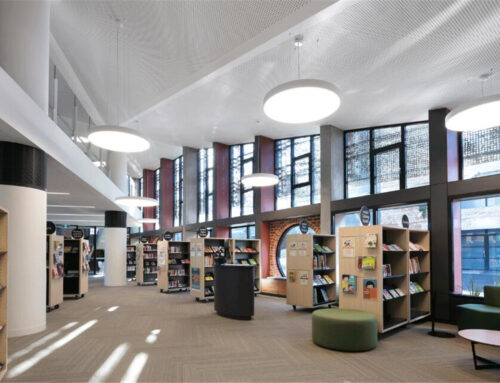Melbourne's coolest building——A green six-star library